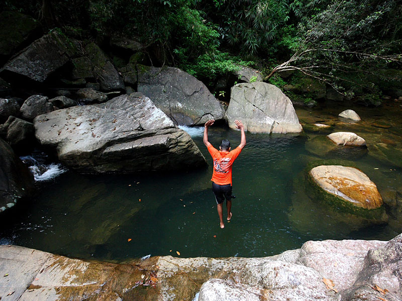Canyoning in Kitulgala - Canyoning - Adventure Trips in Kitulgala - Kitulgala Adventure Tours - Kitulgala Adventures - Kitulgala Activities - Adventure activities in Sri Lanka